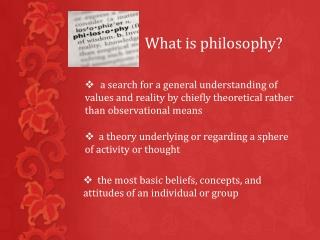 a  theory underlying or regarding a sphere of activity or thought
