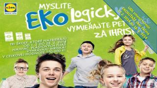 LIDL zmenil termín  EKOSÚŤAŽE zber začína  17.2. 2014 do 16. 3. 2014
