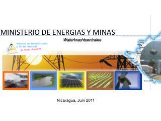 MINISTERIO DE ENERGIAS Y MINAS