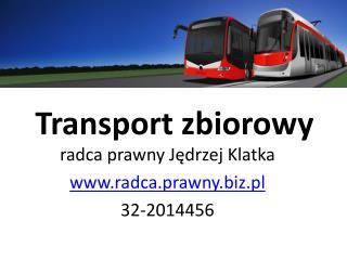 Transport zbiorowy