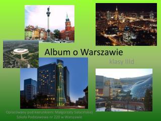 Album o Warszawie