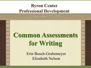 Byron Center  Professional Development