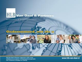 HLB Van Daal & Partners, opgericht in 1979, is een