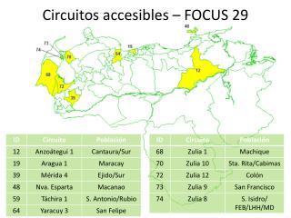 Circuitos accesibles – FOCUS 29