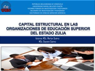 REP�BLICA BOLIVARIANA DE VENEZUELA UNIVERSIDAD RAFAEL BELLOSO CHAC�N