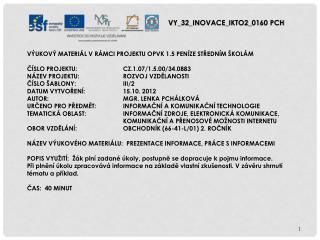 V Y_32_INOVACE_ IKTO2 _ 01 60  PCH