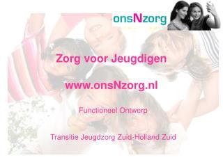 Zorg voor Jeugdigen  onsNzorg.nl