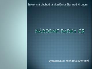 Národné parky ČR