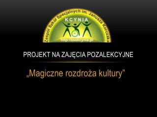 Projekt na zajęcia pozalekcyjne