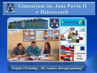 Gimnazjum im. Jana Pawła II  w Daleszycach