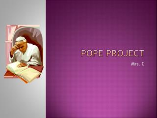 Pope project