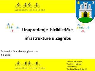 Unapređenje  biciklističke infrastrukture u Zagrebu