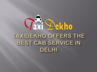 Taxi service in Delhi