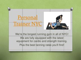 Personal Training NYC