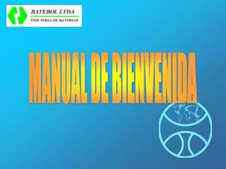 MANUAL DE BIENVENIDA