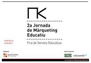 2a Jornada de Màrqueting Educatiu