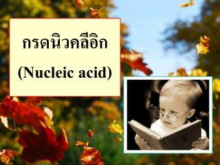 กรดนิวคลีอิก  ( Nucleic acid )