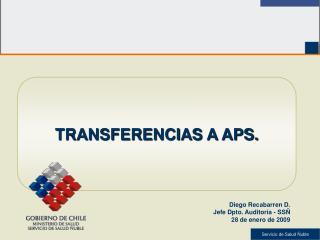 TRANSFERENCIAS A APS.