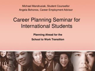 Career Planning Seminar for International Students