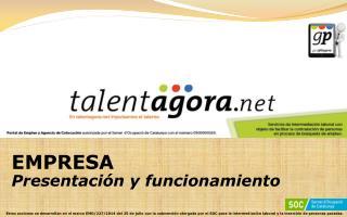 EMPRESA Presentación y funcionamiento