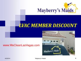 Mayberrys Maids & Carpet Cleaning Las Vegas Nevada