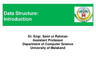 Data Structure: Introduction