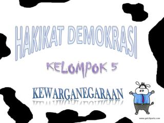 HAKIKAT DEMOKRASI