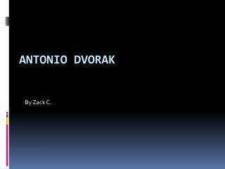 Antonio Dvorak