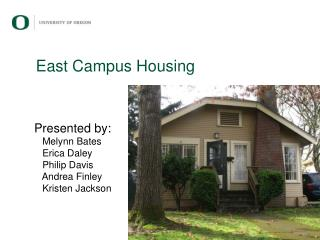 East Campus Housing