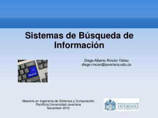 Sistemas de Búsqueda de Información