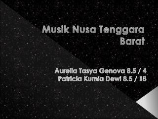 Musik Nusa Tenggara Barat