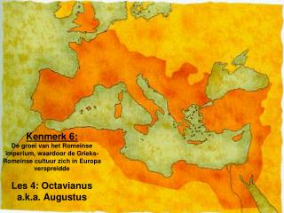 Wraak -  Octavianus en Marcus Antonius