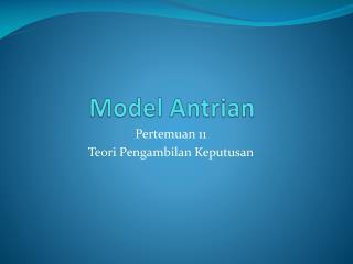 Model Antrian