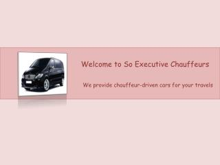 Convenient most way to hire executive chauffeurs in London