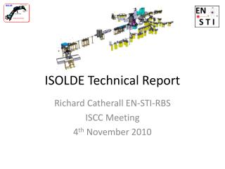 ISOLDE Technical Report