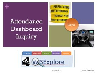 Attendance Dashboard Inquiry