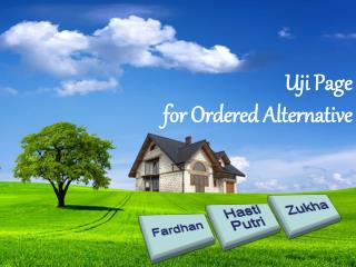 Uji Page  for Ordered Alternative