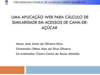 Uma aplicação web para cálculo de similaridade em acessos de cana-de-açúcar .