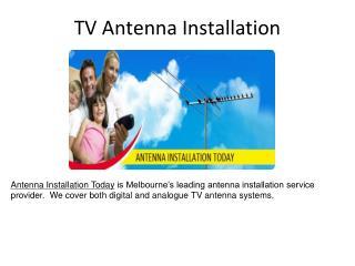 Antenna Installation Today