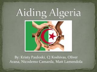 Aiding Algeria