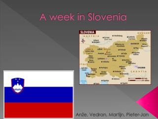 A  week  in  Slovenia