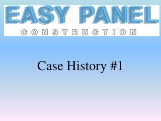 Case History #1