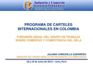 18 y 19 de  Junio  de 2012 – Lima,  Perú