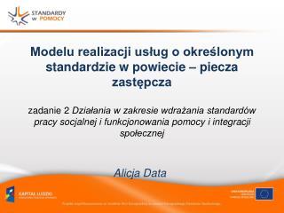 Alicja Data