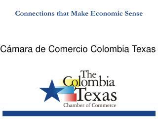 Connections that Make Economic Sense