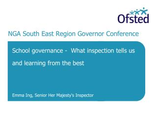 NGA South East Region Governor Conference