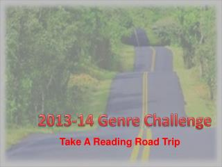 Take A Reading Road Trip