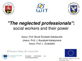 """""""The neglected professionals"""" :  social workers and their power"""