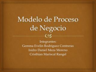 Modelo de Proceso de Negocio