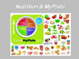 Nutrition & MyPlate
